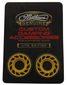 Mathews 80596 Hds Lite 3/8 Yellow 2 Pk