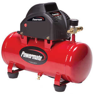 Powermate VPP0000301 3-Gallon Hot Dog Portable Air Compressor