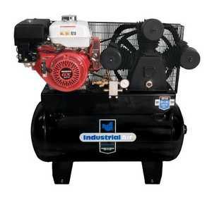 Industrial Air IHA9093080.ES 30-Gallon Portable Air Compressor Gas With Honda