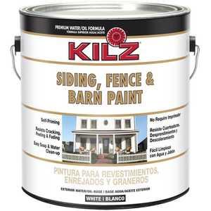 Kilz 10211 Kilz 1-Gal. Siding, Fence & Barn Paint, White