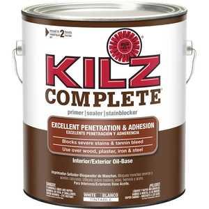 Kilz L101201 Kilz 1-Gal. Complete Oil-Base Interior/Exterior Primer - Low Voc
