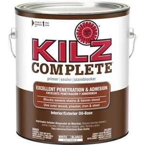 Kilz L101301 Kilz 1-Gal. Complete Oil-Base Interior/Exterior Primer