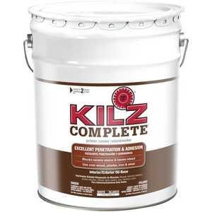 Kilz L101205 Kilz 5-Gal. Complete Oil-Base Interior/Exterior Primer - Low Voc