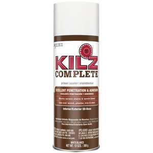 Kilz L101348 Kilz Complete Oil-Base Interior/Exterior Primer Aerosol