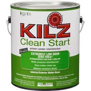 Kilz L211001 Kilz Clean Start Zero-Voc Gal