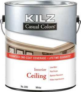 Kilz MR20501 Kilz Casual Colors Ceiling White Gal