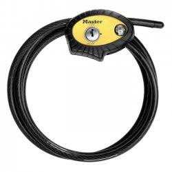 Master Lock 8413DPF Python Locking Cable Adj