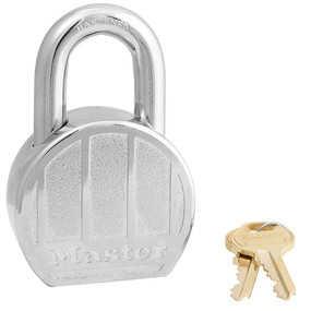 Master Lock 230DPF 2-1/2-Inch Wide Zinc Die-Cast Padlock
