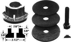 Max Power Precision Parts 330200 Universal Blade Adapter Kit