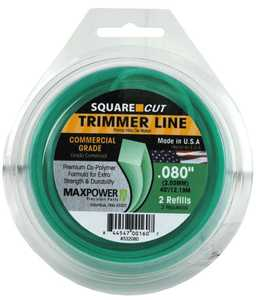 Max Power Precision Parts 332080W Square One Trimmer Line .080-Inch