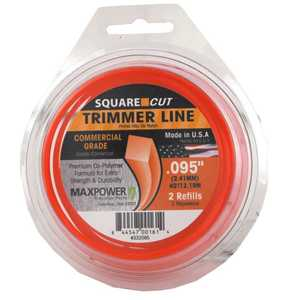Max Power Precision Parts 332095W Square One Trimmer Line .095-Inch
