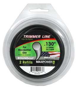 Max Power Precision Parts 333030W Round Trimmer Line .130-Inch