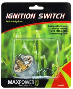 Max Power Precision Parts 334012C Ignition Switch