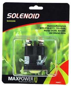 Max Power Precision Parts 334017C Solenoid