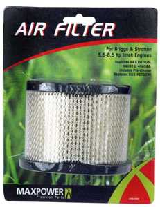 Max Power Precision Parts 334363 Air Filter For Briggs and Stratton