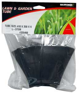 Max Power Precision Parts 335460 Tire Tube With L-Shaped Valve Stem 410x350x6