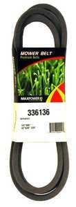 Max Power Precision Parts 336136 42-Inch Blade Belt For Poulan/Craftsman/Husqvarna