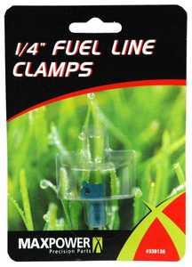Max Power Precision Parts 339136 1/4-Inch Fuel Line Clamp
