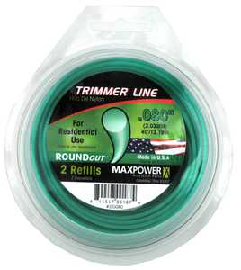 Max Power Precision Parts 353080 Round Trimmer Line .080-Inch