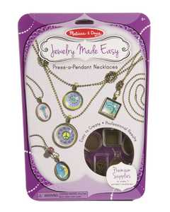Melissa & Doug 9471 Jewelry Made Easy Press A Pendant Necklaces