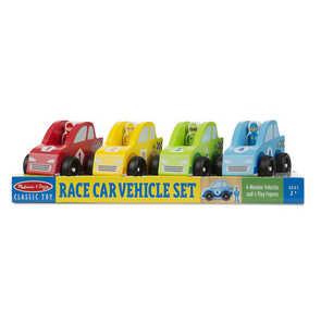 Melissa & Doug 706 Race Car Vehicle Set