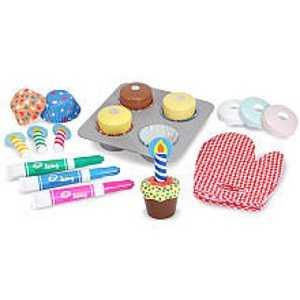 Melissa & Doug 4019 Bake And Decorate Cupcake Set