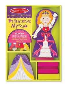 Melissa & Doug 5161 Princess Alyssa Magnetic Dress Up Set