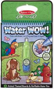 Melissa & Doug 5376 Water Wow! Animals On The Go Travel Activity