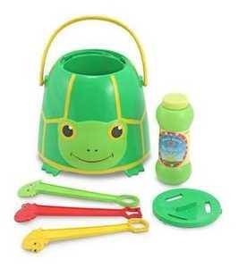 Melissa & Doug 6141 Tootle Turtle Bubble Bucket