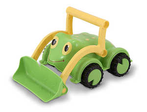 Melissa & Doug 6270 Froggy Bulldozer Toy