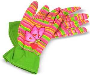 Melissa & Doug 6291 Bella Butterfly Kids Gardening Gloves