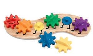 Melissa & Doug 3084 Caterpillar Gears Toddler Toy