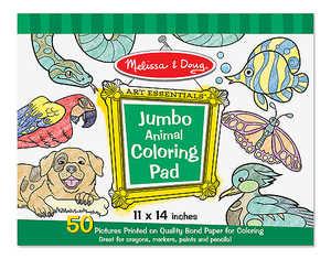 Melissa & Doug 4200 Jumbo Coloring Pad Animals