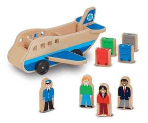 Melissa & Doug 9394 Wooden Airplane