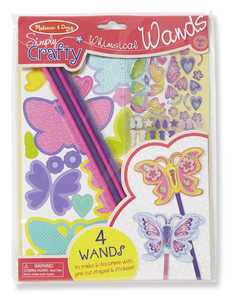 Melissa & Doug 9489 Simply Crafty Whimsical Butterfly Wands