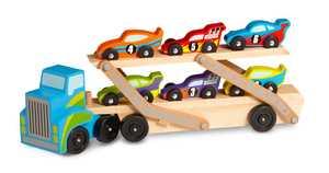 Melissa & Doug 2759 Mega Race Car Carrier