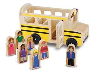 Melissa & Doug 9395 Wooden Classic School Bus