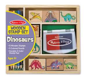 Melissa & Doug 1633 Dinosaur Stamp Set