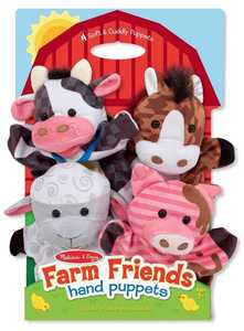Melissa & Doug 9080 Farm Friends Hand Puppets