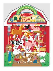 Melissa & Doug 9408 Puffy Sticker Play Set On The Farm