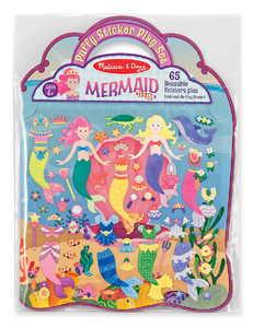 Melissa & Doug 9413 Puffy Sticker Play Set Mermaid