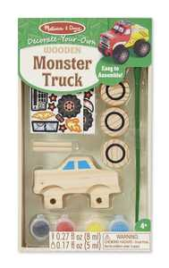 Melissa & Doug 9524 Decorate Your Own Monster Truck