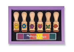 Melissa & Doug 2407 Happy Handle Stamp Set