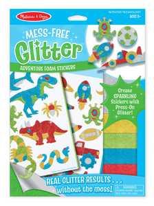 Melissa & Doug 9501 Mess-Free Glitter Adventure Foam Stickers