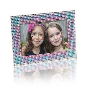 Melissa & Doug 9239 Press-On Rhinestones Picture Frame