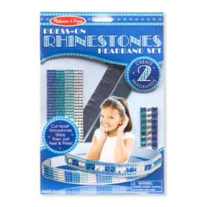Melissa & Doug 9245 Press-On Rhinestones Headband Set