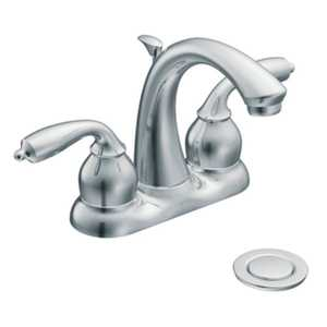 Moen CA84292 Bayhill Lavatory Faucet 2-Handle C Spout Chrome