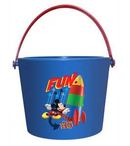 MIDWEST QUALITY GLOVES MY8K Disney Mickey Mouse Blue Garden Bucket