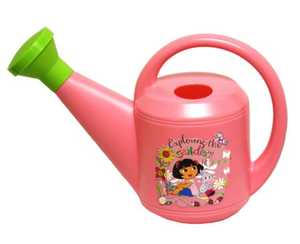 MIDWEST QUALITY GLOVES DE420K Nickelodeon Dora The Explorer Pink Watering Can