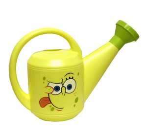 MIDWEST QUALITY GLOVES SS420K Nickelodeon SpongeBob SquarePants Yellow And Green Watering Can